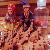 Reindeer Herd in the Kitchen