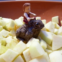 Apple Crumble for Toad