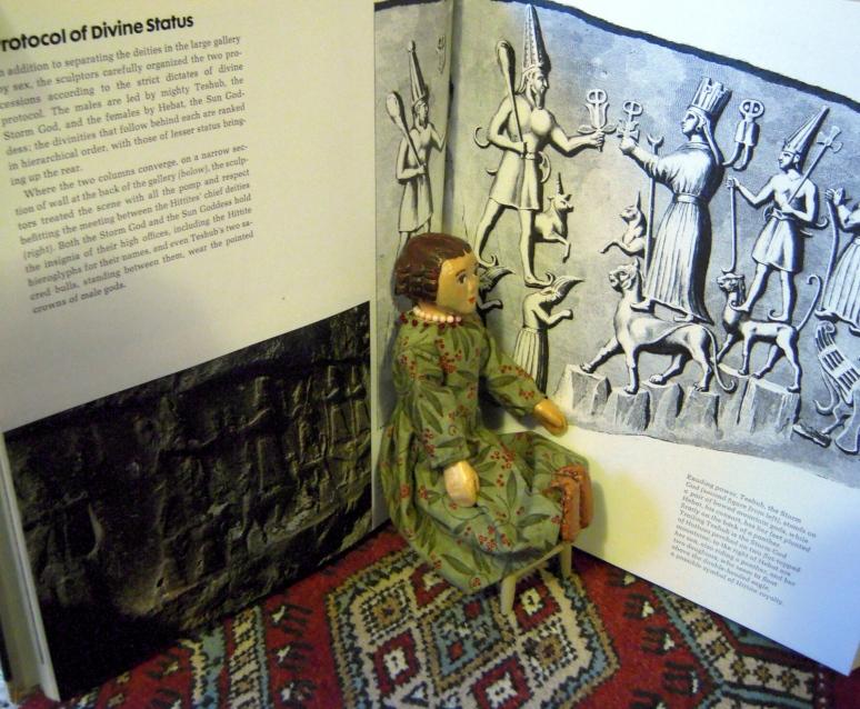Constance studies the Hittites.