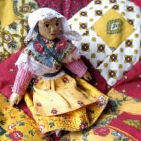 Provençal Fabric Baby Quilt