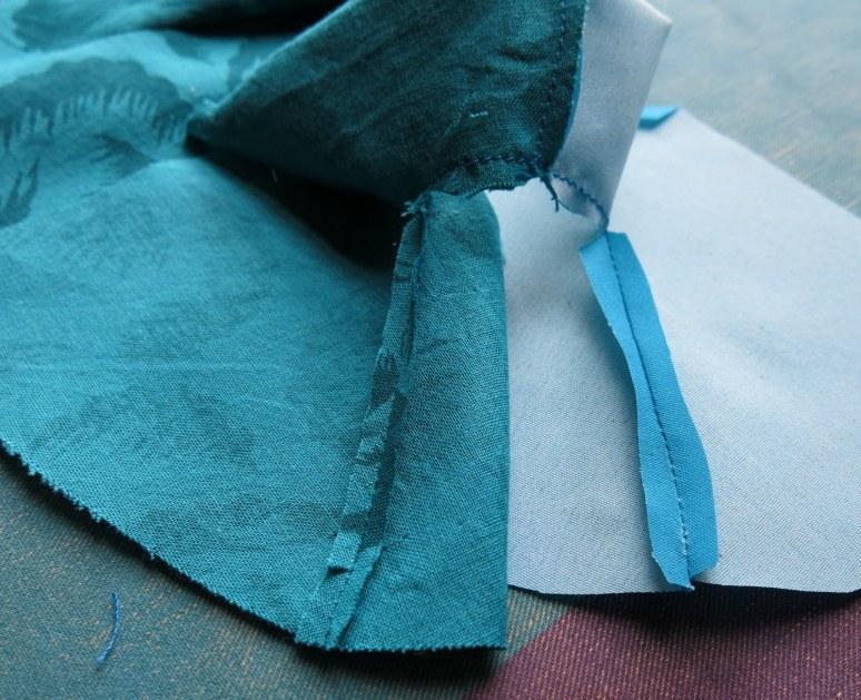 Underarm and sleeve seam pressing