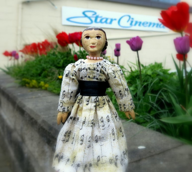 Constance at the Star Cinema