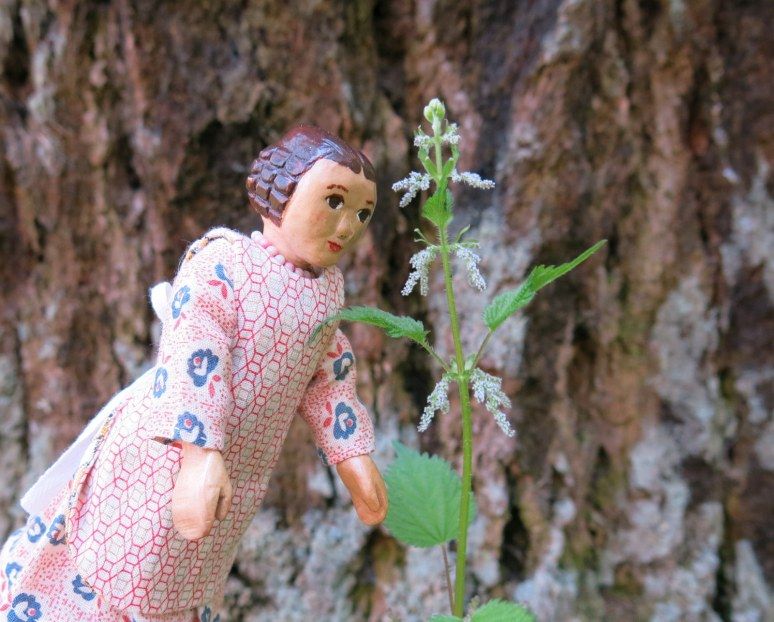 Stinging Nettle flowers