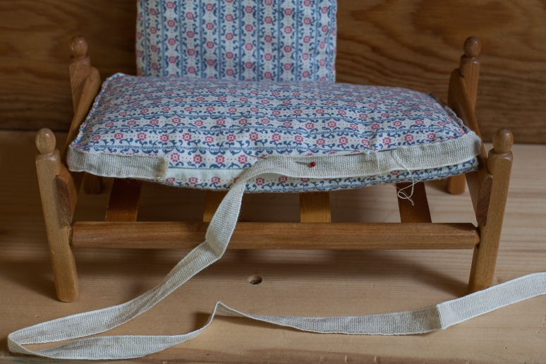 Sewing on Side Tapes