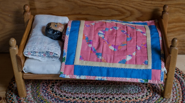 A civilised bed at last.