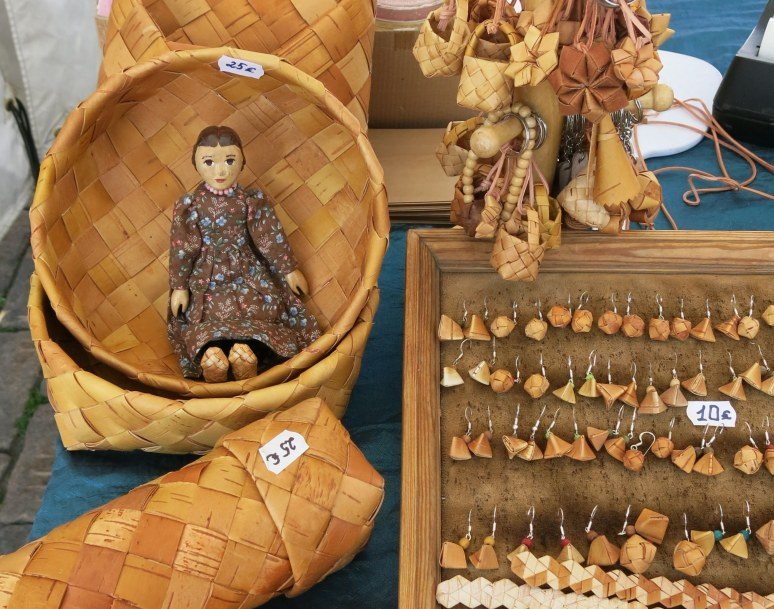 Woven Birch shoes and baskets