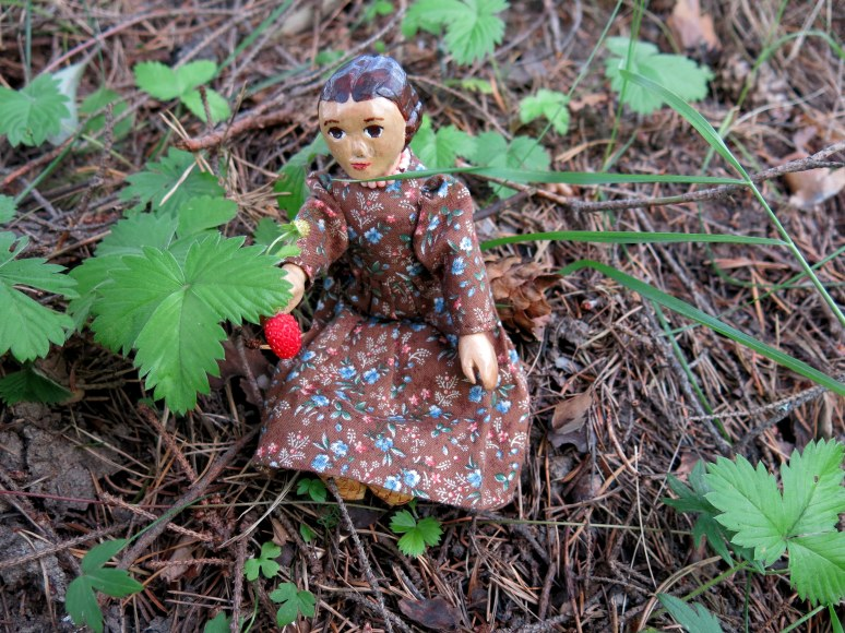 Constance finds  a Wild Strawberry