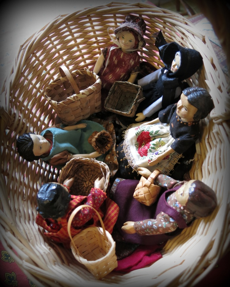 Baskets and Aprons
