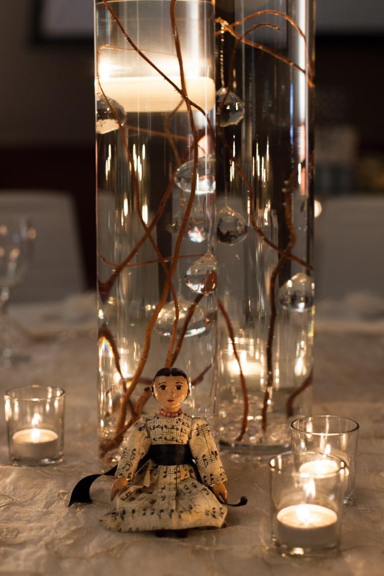 Wedding banquet centrepiece