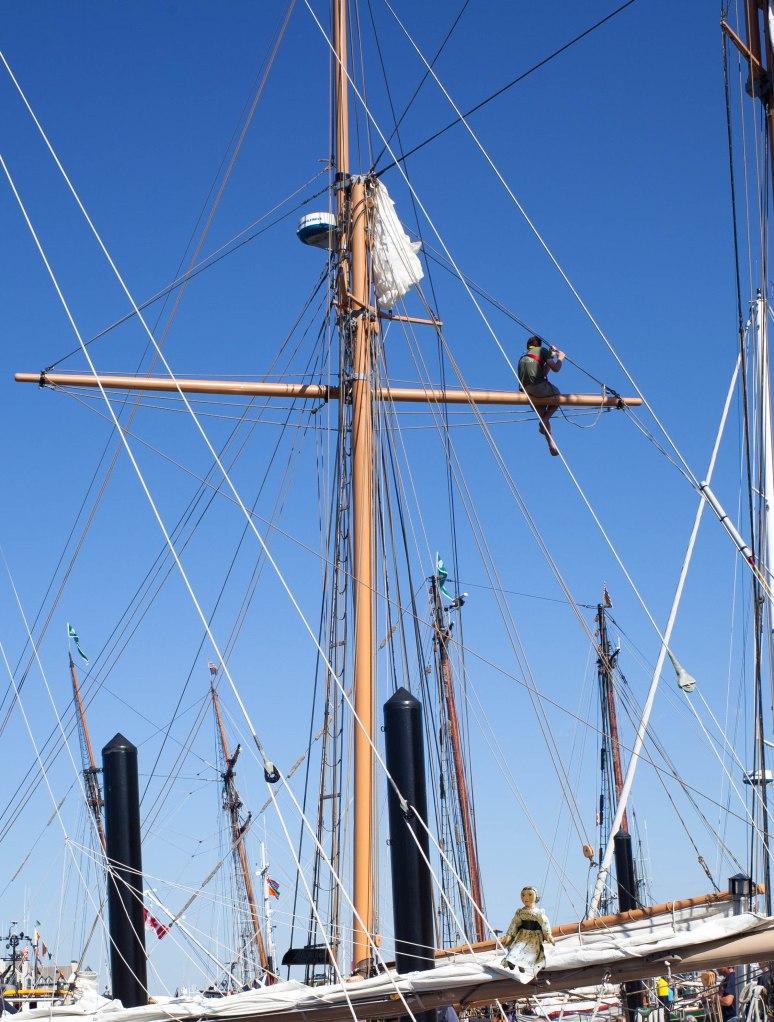 Constance sets on a Sail