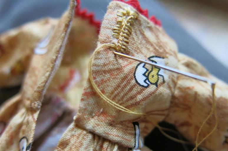 Chicken Buttonholes