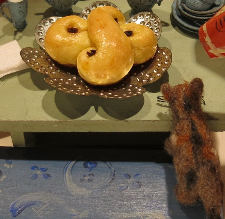 Hitty-sized Lussekatt