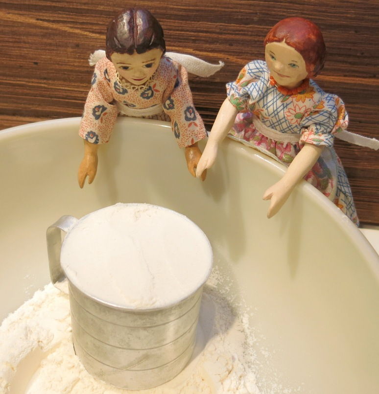Two cups of flour