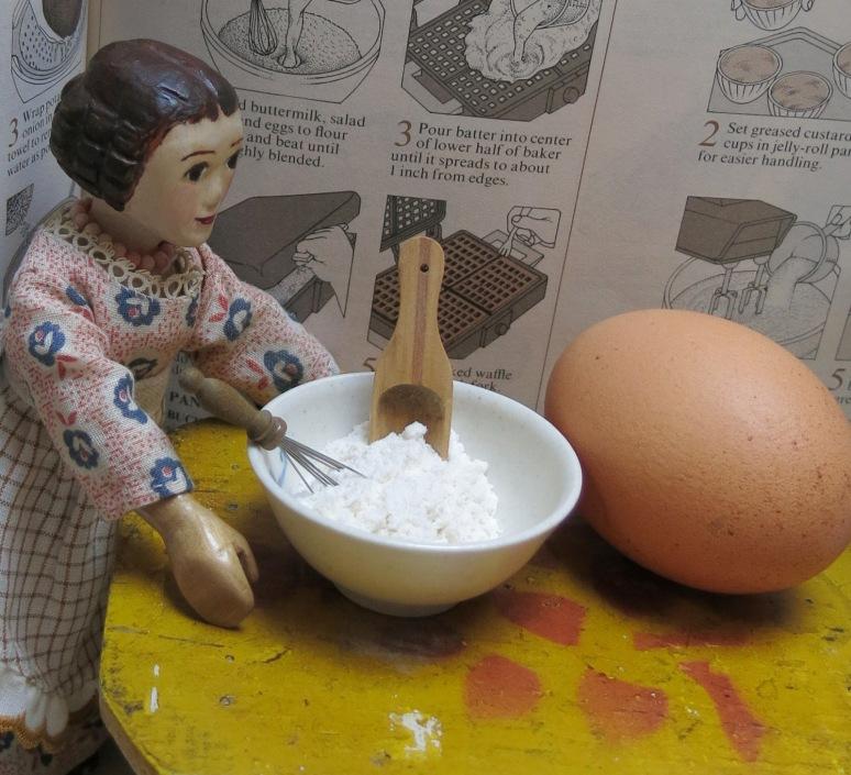 Flour, Eggs,