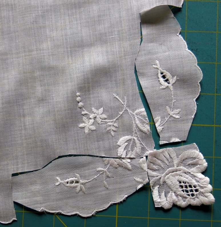Sleeves from the corner