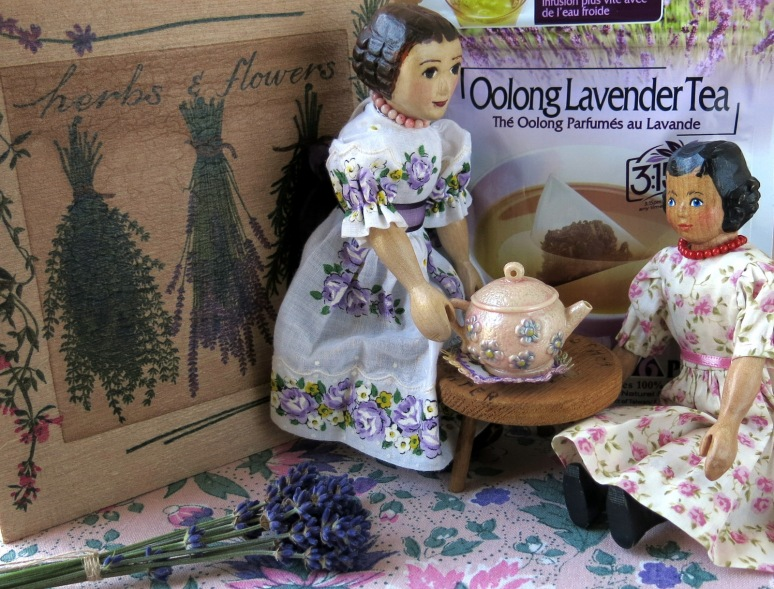 Lavender Oolong