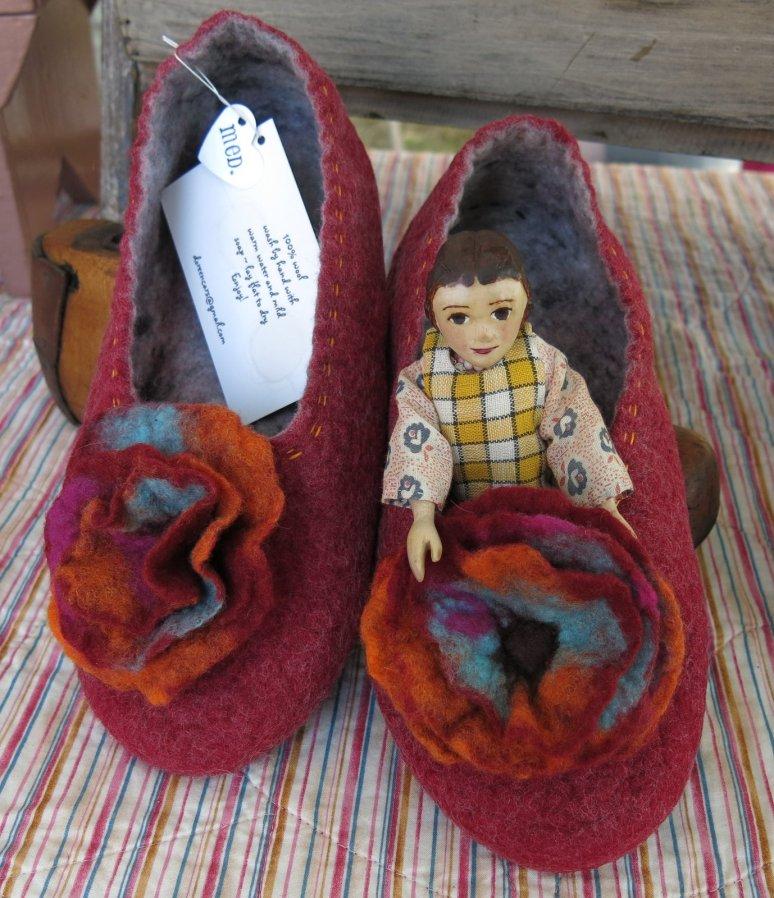 Slippers by Heartfelt Designs