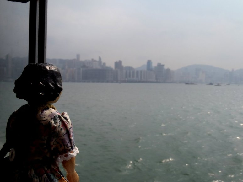 View towards Hong Kong