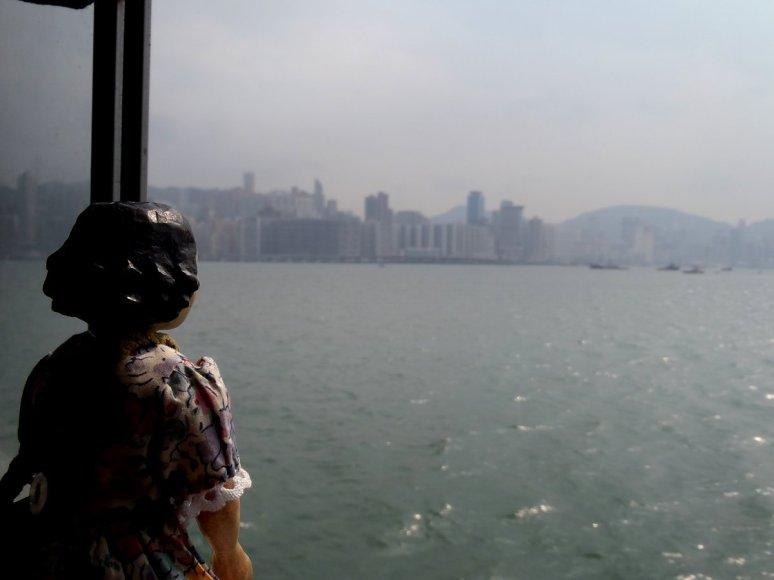 View towards Hong Kong