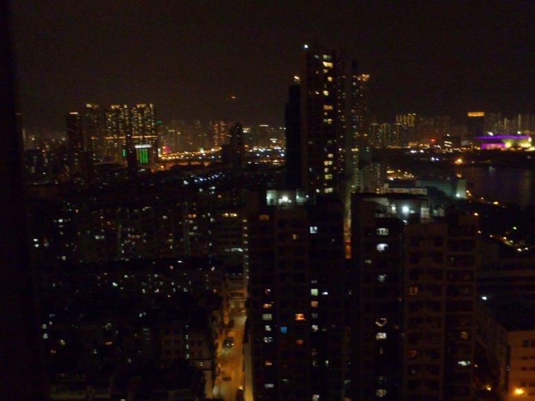 View at night