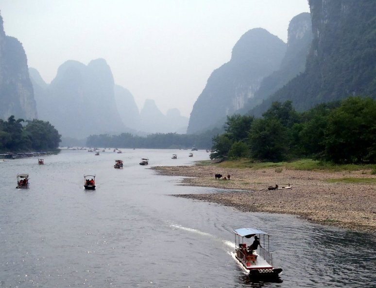 Li River and Karst formations