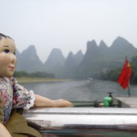 Tansy Travels on the Lijiang River