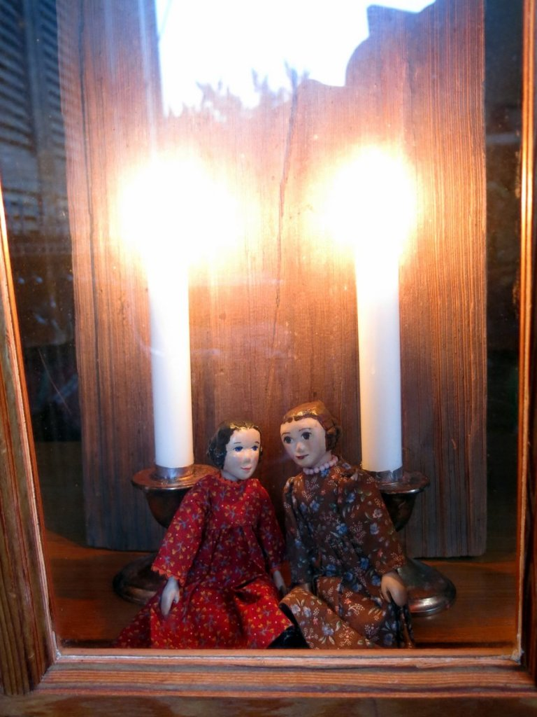 Two Candles in the Window