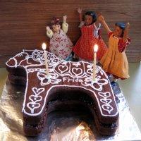 Gingerbread Dalahäst Cake