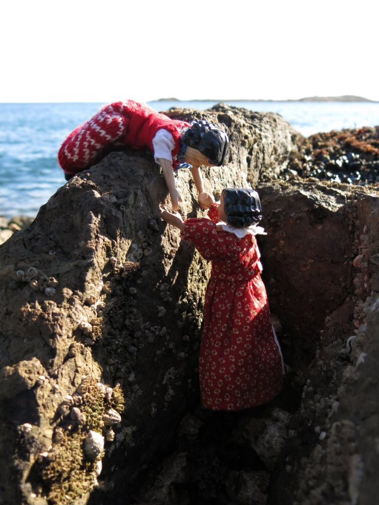 Climbing up
