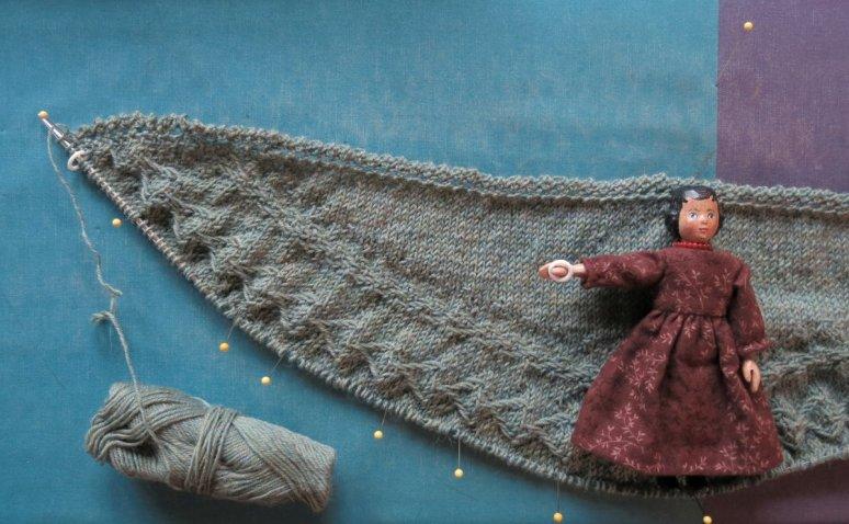 Follow your arrow shawl