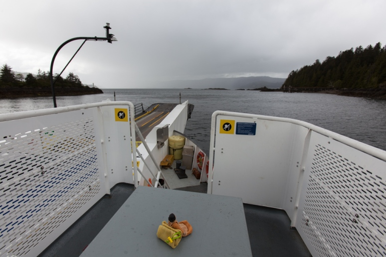 On the ferry to Skidegate