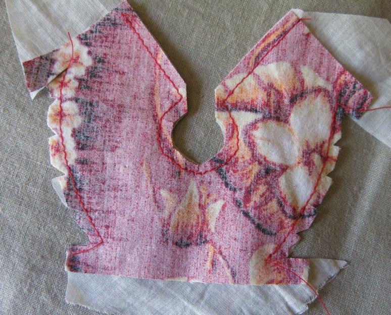 Machine-stitching
