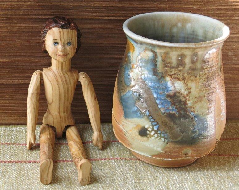 Gráinne and my favourite tea vessel