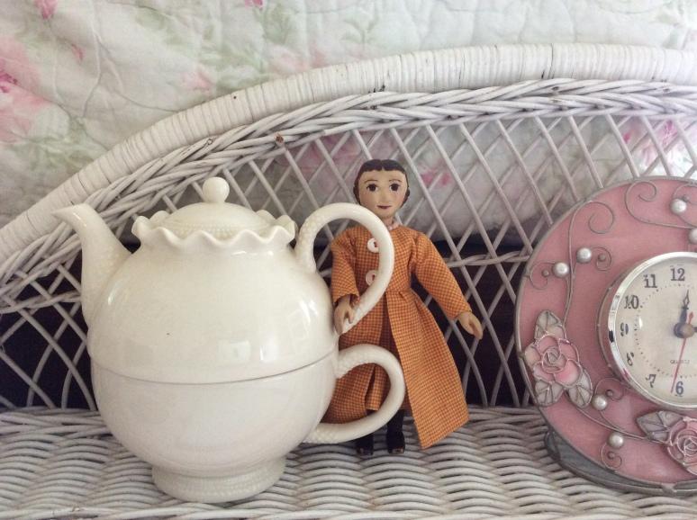 Tea Pot in the Secret Garden Room