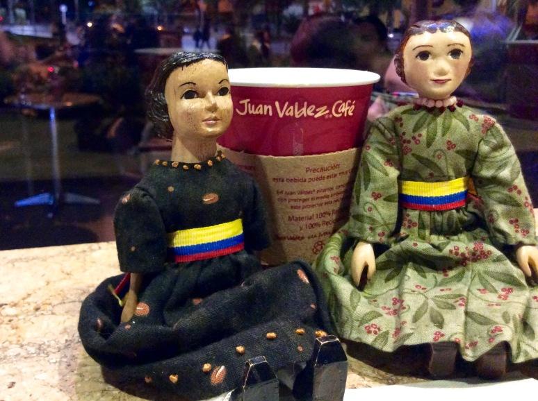 Juan Valdez makes chai latte
