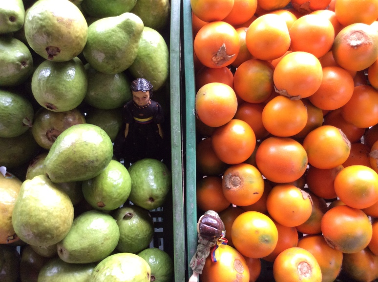 Green Guayaba and Orange Lulo