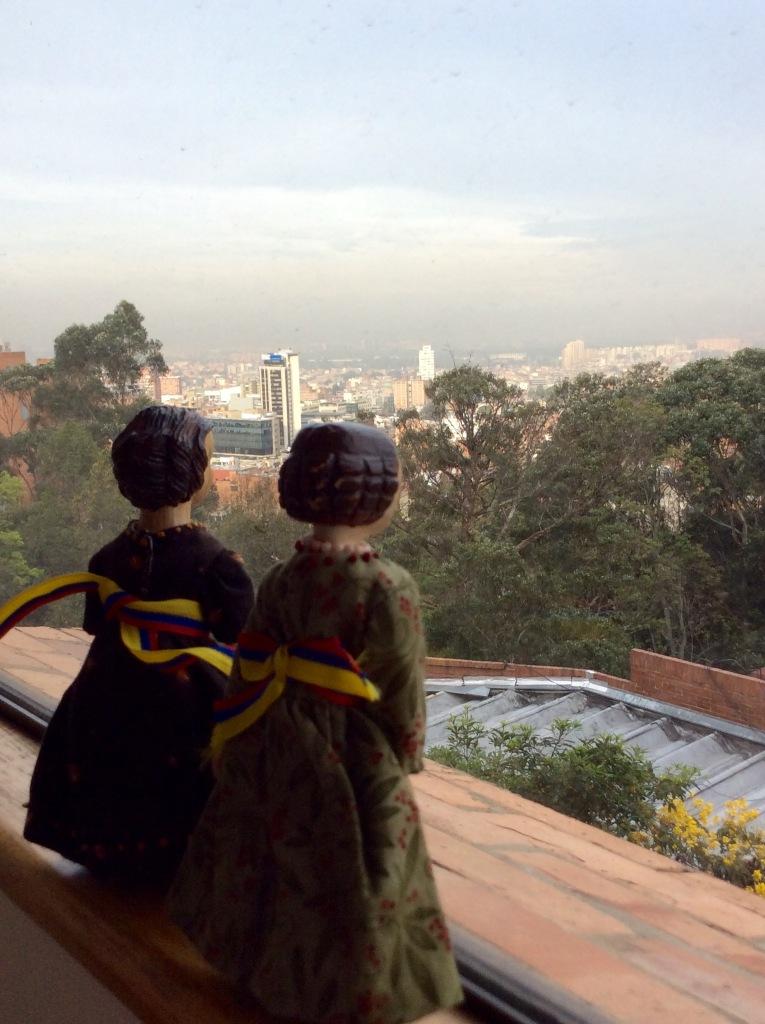 Sunrise in Bogota