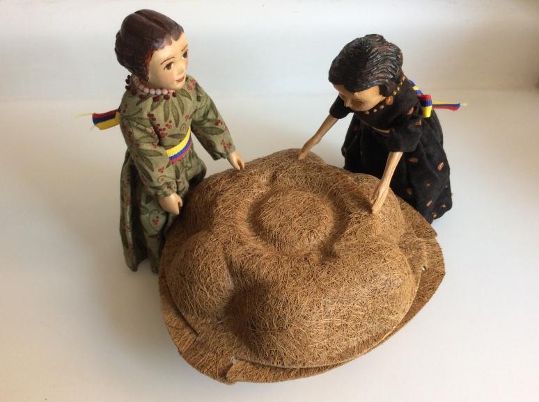 Coconut fibre carton