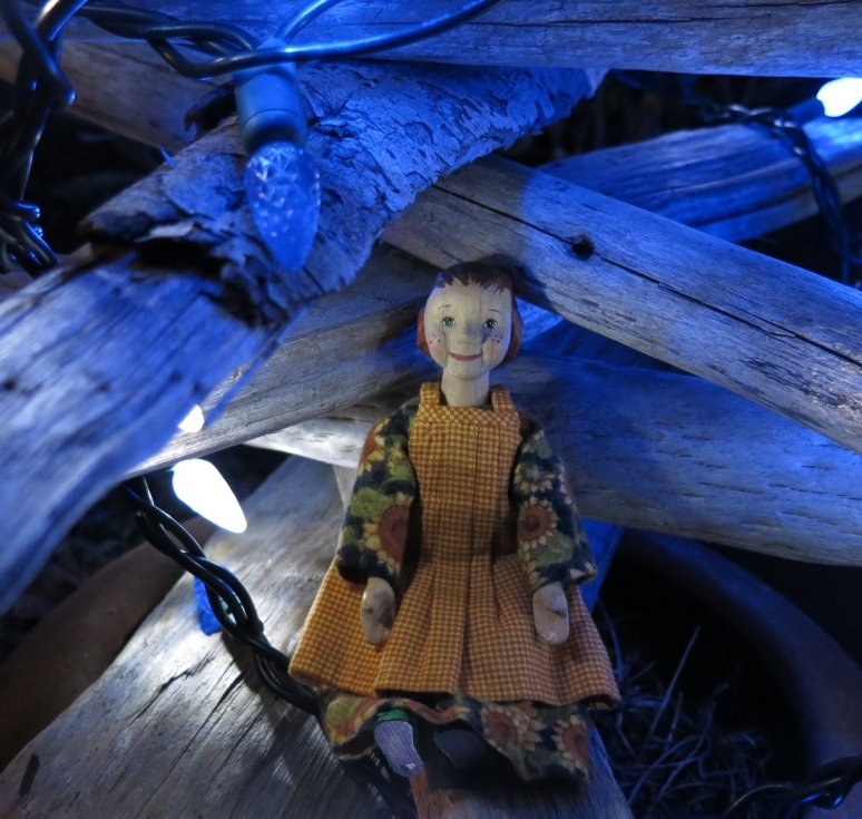 Blue Driftwood Tree