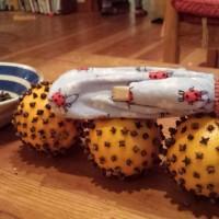 Pomander Balls with Dulcie