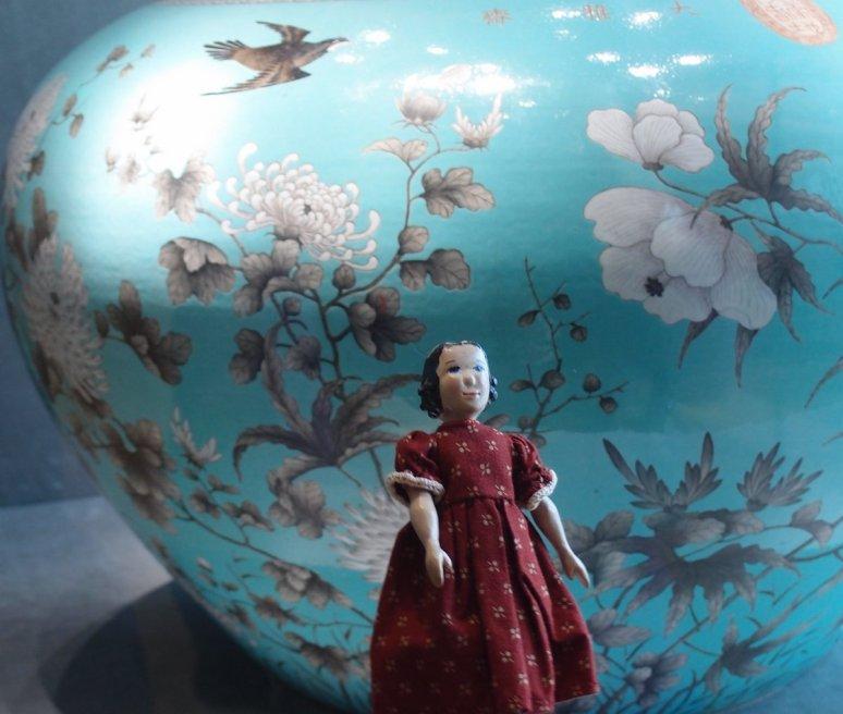 Tansy and Nanjing Museum Ceramics