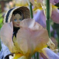 Mary Ann and the Iris