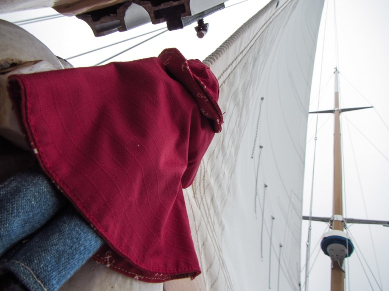 Securing the Foresail