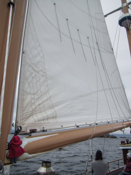 Setting the Foresail