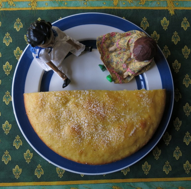 Half Lemon Ricotta Cake