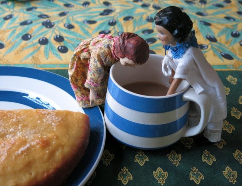Half cup of Tea