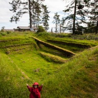 Tansy Visits the Haida Village of K'uuna