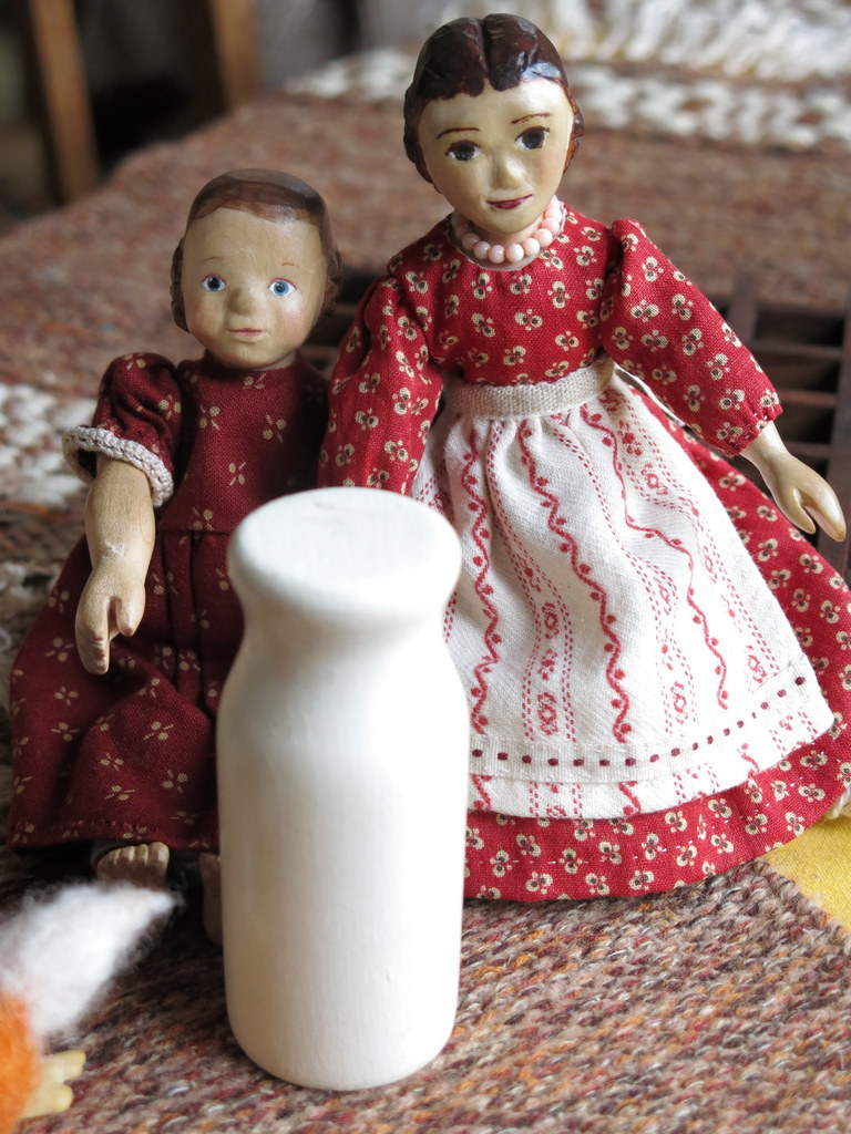 Milk for Constance and Dulcie