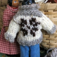 Cowichan Style Sweater for Tansy