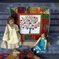 Mini Quilt Display Rack